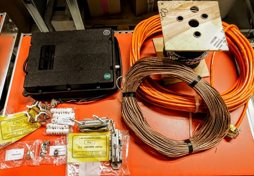 HF Antenna Tuner, loop antenna kit - Standard products catalogue