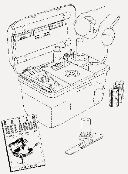 Kit Water Lab Test Delagua