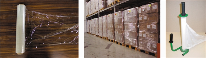 Shrink-wrap film for pallet