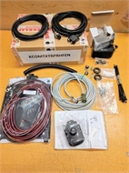 Pre-cabling, programming and power supply