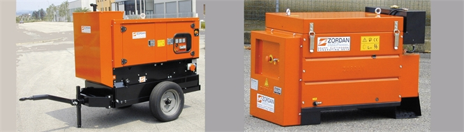 Generators, diesel, 6 to 15 kVA