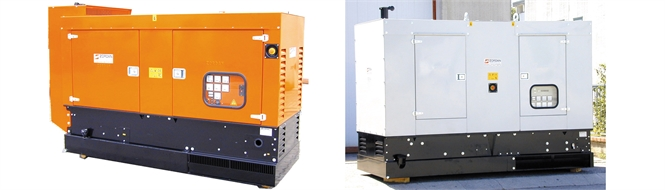 Generators, diesel, 20 to 300 kVA