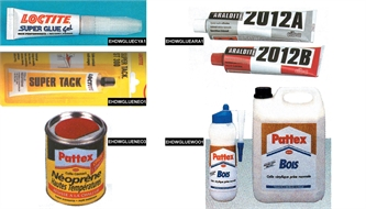 Glues and thinners