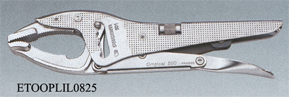 Lock grip pliers
