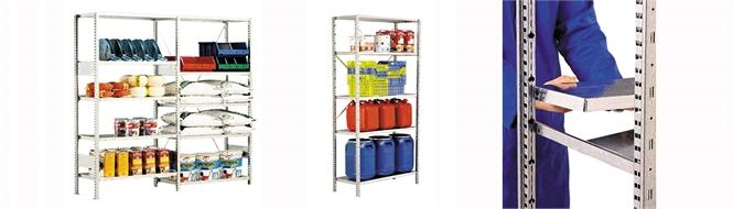 Shelf unit, storage