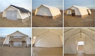 Multi-purpose tent, Polycotton, 45m2