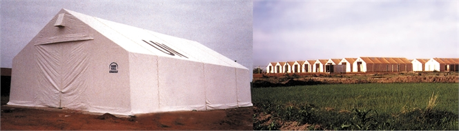 Warehouse tent, PVC, 240 m2