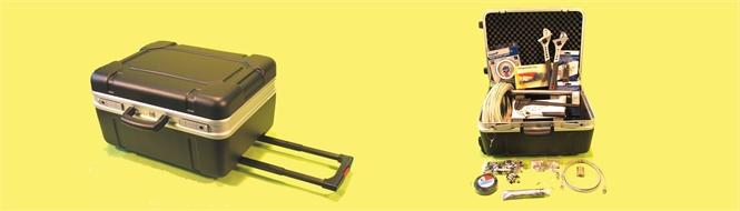 Kit, tool box for VSAT installation