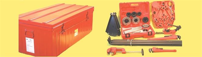 Tool kit for plumbing