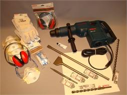 Hammer drill, heavy duty