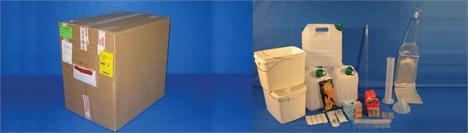 (kit 001) SET, CHLORINATION & WATER TESTING, DGR