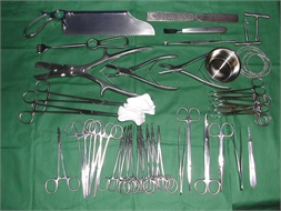 SET, AMPUTATION, instruments