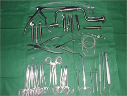 SET, CRANIOTOMY, complementary, instruments