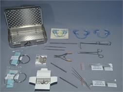 SET, DENTAL WIRING, soft wire, 2 sizes + instruments