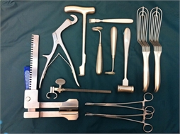 SET, THORACOTOMY, complementary, instruments