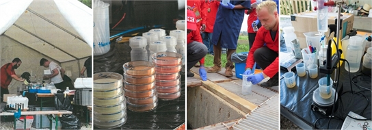 Faecal sludge Field Laboratory