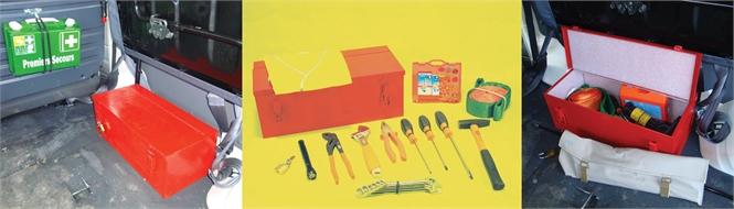 Tool kit for Land Cruiser