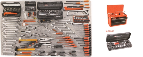 Tool kit for light vehicle