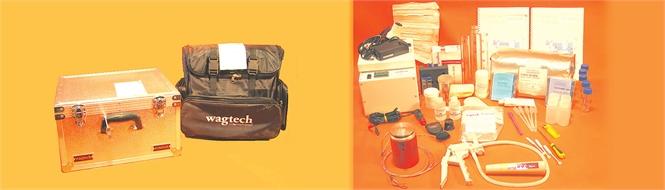 Kit water lab test, Wagtech