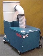 Dust collector, for workshop
