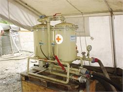 Water purification unit, Berkefeld