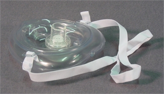 Mask, mouth-to-mouth, protection, for resuscitation, reusable