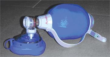 Resuscitator, AMBU Mark III, complete