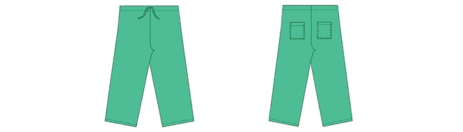 Surgical trousers