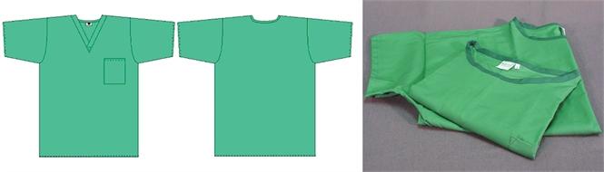 Surgical tunic/shirt