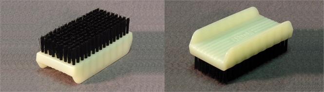 Brush, scrubbing, plastic autoclavable
