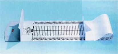 Measuring mat, baby, horizontal