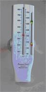 Peak flow meter, universal range