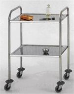 Trolley, dressing, 60 x 43cm 2 shelves