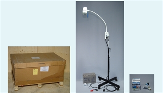 Lamp, halogen, examination/operation, Echo, 1 spot, mobile, 220V/12V, new model