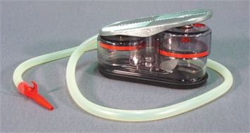 Pump, suction, foot operated