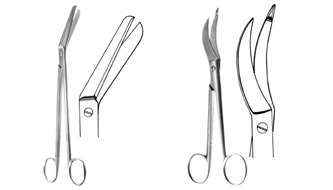 Scissors, episiotomy