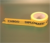 TAPE ADHESIVE, diplomatical, yellow, 50mmx66m, for packing