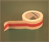 TAPE ADHESIVE, with red line, for FD, 50mmx66m, pack.