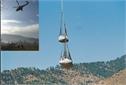 Transport net, helicopter