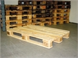 WOODEN PALLET, 0.8x1.2x0.1m, ISO type, treated