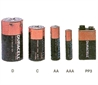 Batteries, 1.5V, dry cell