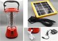 Solar lamp, for distribution