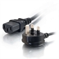 POWER CORD, BS1363 plug (UK) to C13 (UPS) connector, 2m