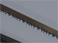 BLADE, for bow saw, for wood, tortoise type, 450mm