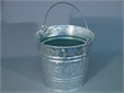 BUCKET, metal, galvanised, 25l