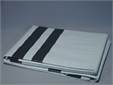 TARPAULINS, woven plastic, 4 x 6 m, white/white, piece