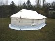 Family tent, ridge