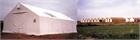 Warehouse tent, PVC, 240 m2