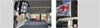 Kit, installation flag pole for car