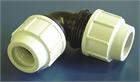 Coupling compression elbow 90ø,hose diam.32-32